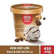 Hộp Wall's Vanilla sốt Socola 450gram - 95.000
