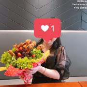 Hoa đùi gà 藍