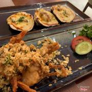 Hào nướng phô mai + cua lột