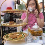 Set trà chiều & bánh (499k)
