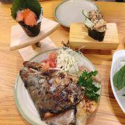 Đầu cá hồi nướng teriyaki