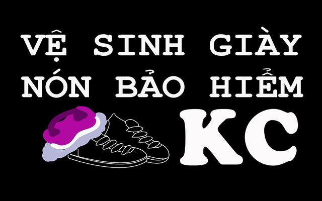 Vệ Sinh Giày & Nón Bảo Hiểm KC