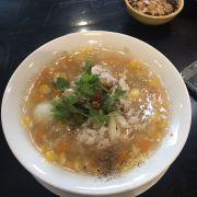 Chén súp cua size nhỏ nhưng thực tế khá to 😂