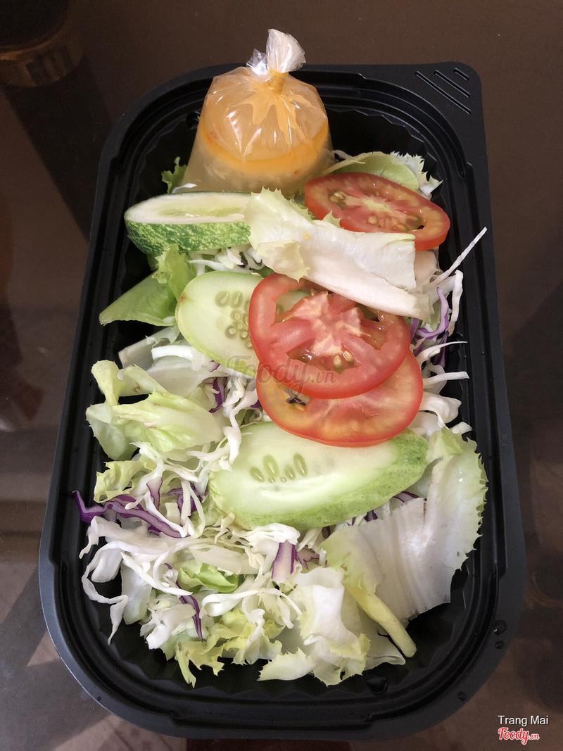Salad sốt dầu giấm