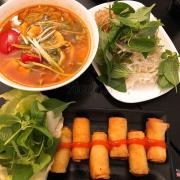 Bún Thái , Chả Giò Bếp Sành