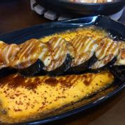 Kimbap tươi sốt phô mai 45k