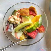 Trái cây dầm sữa chua sầu riêng