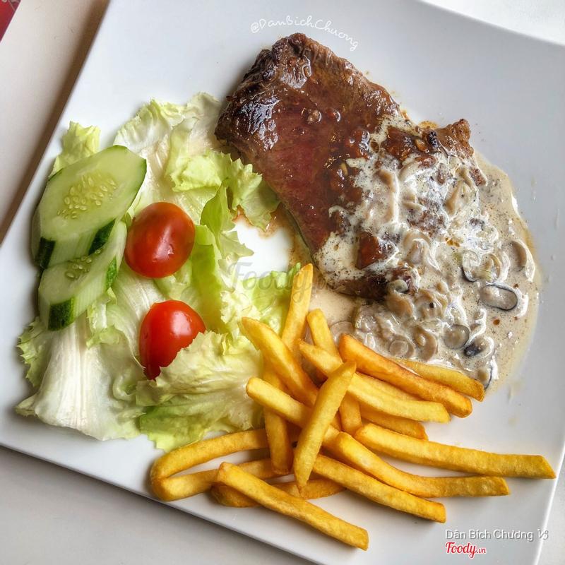 Steak bò mỹ (80k)