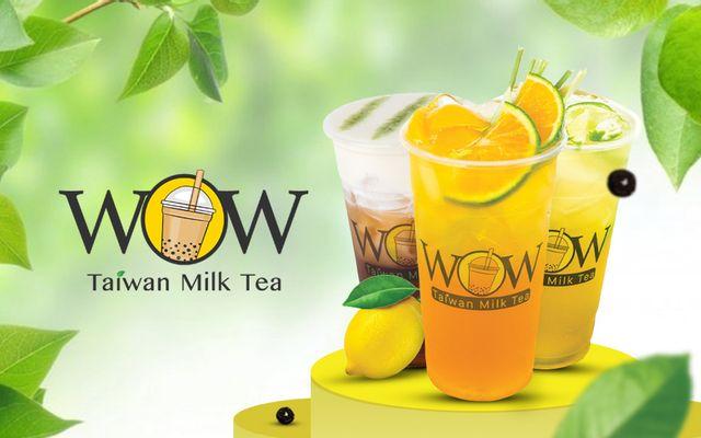 Wow Taiwan Milk Tea - Trưng Nhị