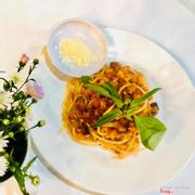 Mỳ Ý xào thịt bò, món ngon đặc biệt của quán