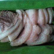 Thịt thêm của bún đậu 15k