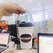Cà phê muối siêu ngon, quai xách lại kute hết sứccccccccc😘