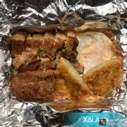 Xôi thịt kho + trứng ốp + chả cốm + pate
