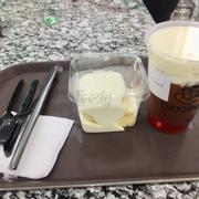 Hồng trà Macchiato (M) & Bánh