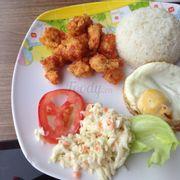 Chicken ball rice