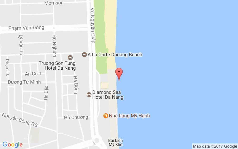 Vị trí bản đồ Biển Mỹ Khê - Đà Nẵng ở Đà Nẵng