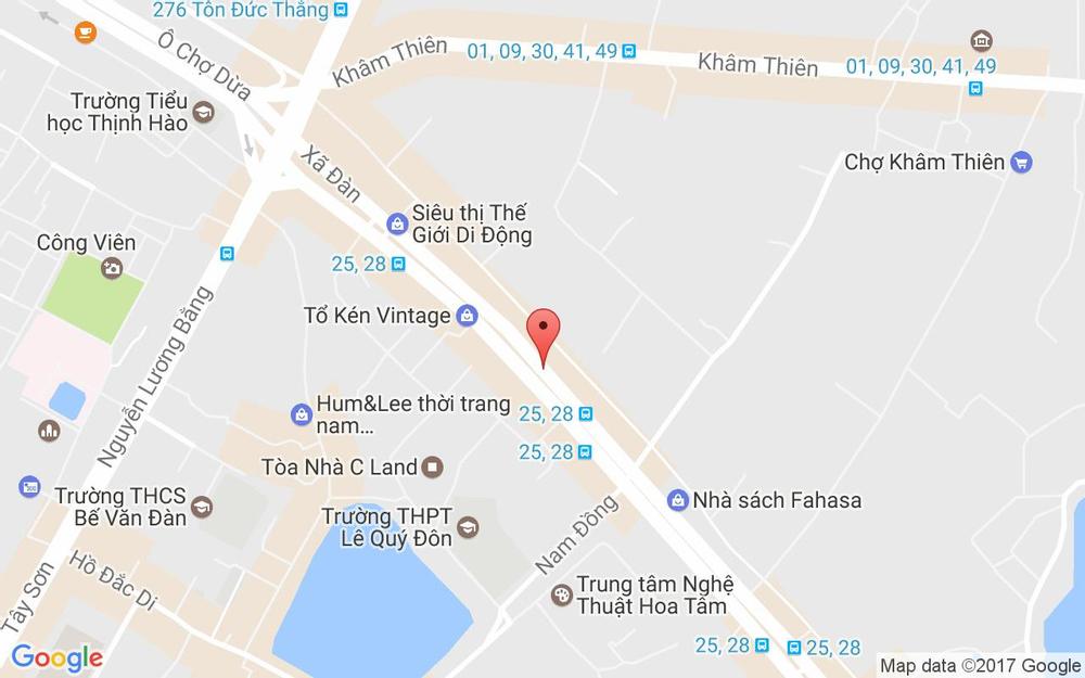 Vị trí bản đồ 418 Xã Đàn Quận Đống Đa Hà Nội