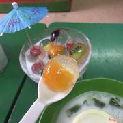 Thạch trái cây pha lê