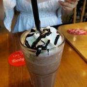 cafe đá xay hạt dẻ