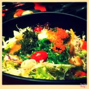 Salat rong biển trứng cá hồi