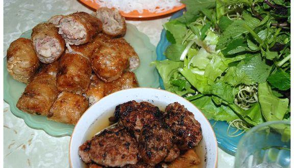 Nhật Minh - Bánh Xèo, Nem Lụi & Bún Chả