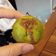 Bánh Muffin Trà xanh (Ngọt gắt và khô)
