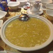 súp bắp thịt cua