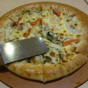 Bánh pizza tôm sốt bơ tỏi viền phô mai
