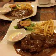Beef steak sot BBQ