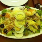 Salad cá hồi, phô mai