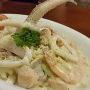 Seafood spaghetti 140k