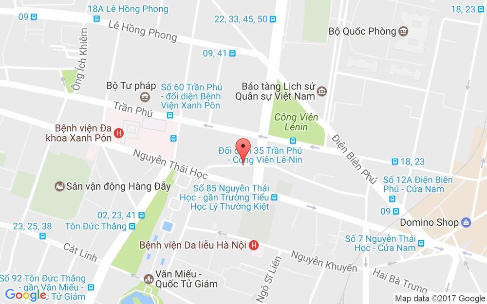 Vị trí bản đồ Karaoke Cafe A.Em ở Hà Nội
