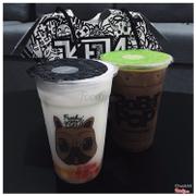 Trà sữa vải & trà sữa socola