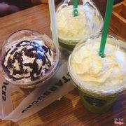 Green tea - chocolate chip.
