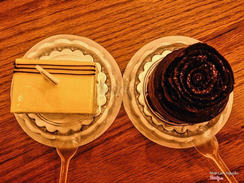 Bánh chanh dây và chocolate
