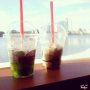 View đẹp, đồ uống ngon, kết nhất là vị trà xanh mới này