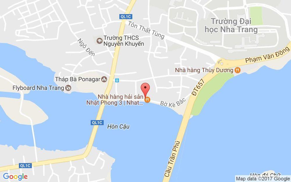 Vị trí bản đồ 104C Cù Lao Trung, Bờ Kè Tp. Nha Trang Khánh Hoà