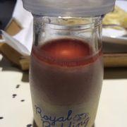 Strawberry Royal Pudding