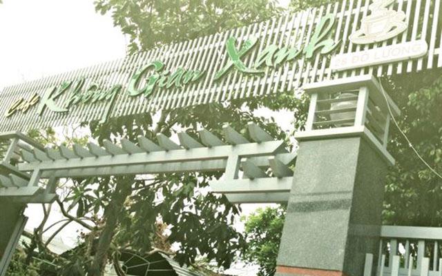 Không Gian Xanh Cafe - Đô Lương