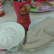 Bánh bao và gà chay