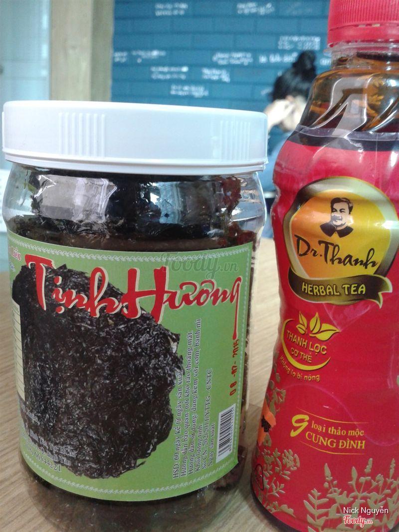 Rong biển muối sấy tỏi #drthanhmonquasuckhoe