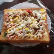 pizza ngô