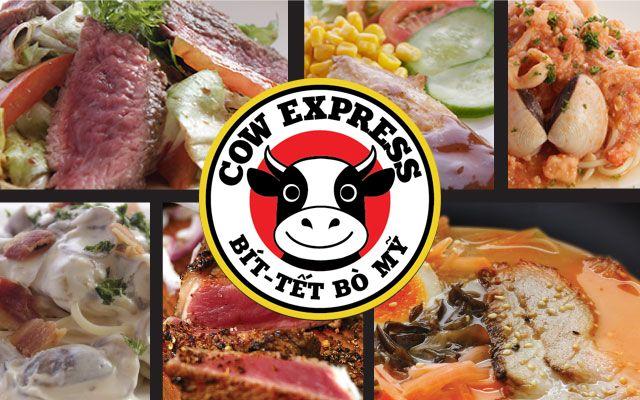 BeefSteak - Mì Ý - Salad Cow Express - Sư Vạn Hạnh