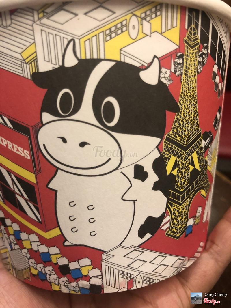 Con bò này giống ở quán nayd