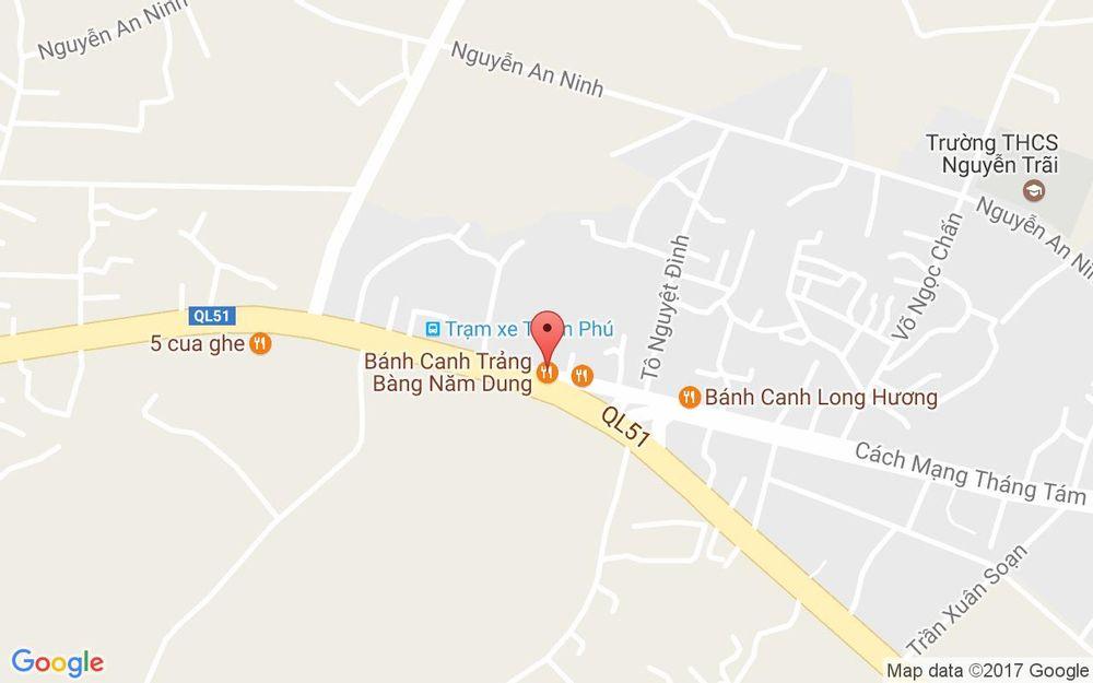 Vị trí bản đồ Bánh Canh Trảng Bàng Năm Dung ở Vũng Tàu