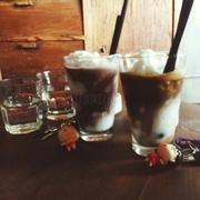 Cafe dừa và dừa socola