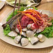 Thịt hải sản