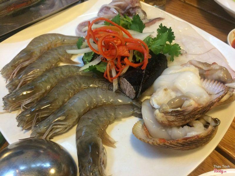 Hải sản lẩu Tom Yum