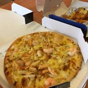Pizza Hải Sản và Khoai Tây bỏ lò