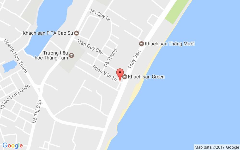 Vị trí bản đồ Lửa Hồng Hotel ở Vũng Tàu